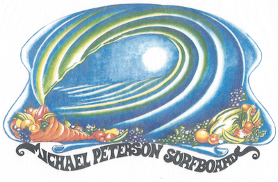 Michael Peterson Surfboards Logo